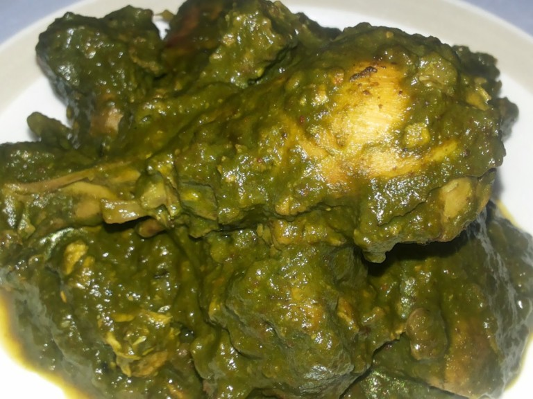chicken_palak
